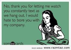 rude texters