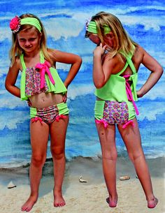 Precious suit for my granddaughter by Muddy Feet Boutique