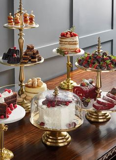 Serve delectable treats in style with our exquisitely detailed Amelie Tiered Servers. Each clear glass serving tier features a stainless-steel border with a mat Tiered Server, Decoration Table, Thanksgiving Decorations, Food Presentation, High Tea, Dessert Table, Afternoon Tea, Sweet Treats, Table Settings