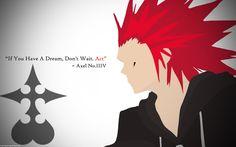 DeviantArt: More Like Kingdom Hearts Axel Minimalist Wallpaper ...