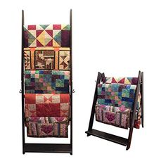 The LadderRack 2-in-1 Quilt Display R…