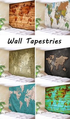 Wall Tapestries:I will take you to see the world.
