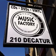 A favorite resource for New Orleans and regional music---new and old---Louisiana Music Factory has records, tapes, CDs, DVDs, sheet music, and books as well as listening stations, music-oriented T-shirts, original art, and a stage that hosts frequent live concerts.