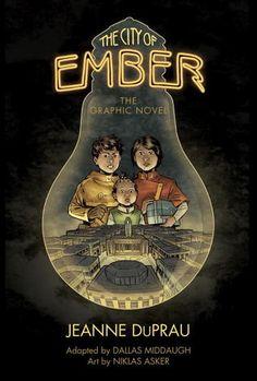 """The City of Ember: The Graphic Novel"" By: Jeanne DuPrau; J Graphic Novel - DuPrau http://find.minlib.net/iii/encore/record/C__Rb3029138"