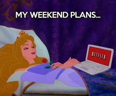 Netflix and chill... #weekends