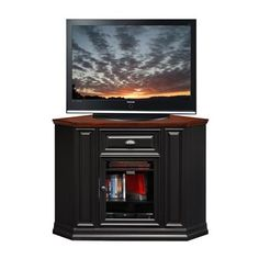 Leick 87232 46-in Tall Corner TV Stand