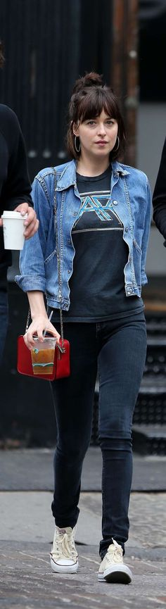 Dakota Johnson, Office Outfits, Personal Style, Cool Outfits, Punk, Style Inspiration, Chic, Stylish, My Style