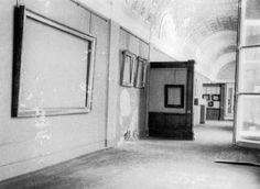 Interior del Museo del Hermitage durante el bloqueo de Leningrado 1941