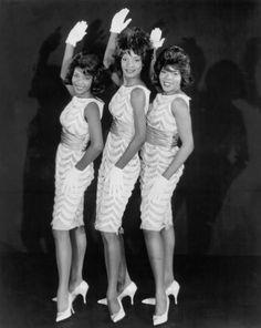 Martha Reeves and the Vandellas....love them!