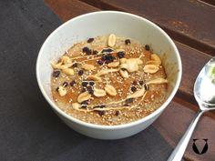 Erdnuss-Hirse Porridge – vollkostfabrik