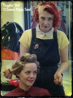 Vintage Hairstyling by Dazzlin' Gal