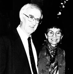 Late Dr. Michael M. Ames, a Canadian academic and Professor of Anthropology of the department of Anthropology-sociology at UBC (left). Late Doreen Jensen, my good friend and a Gitk'san elder and scholar, regarded as an authority on Gitk'san Language, History and Culture, born in Kispiox, B.C. (right). -- Dolly McRae, author of Cultural Empowerment within Museums and Anthropology