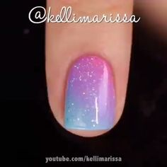 Girls, if you wanna see more nail-art ideas that you can easily apply at home then just visit our website there are more tutorials! Cute Nail Art, Nail Art Diy, Diy Nails, Cute Nails, Pretty Nails, French Nails, Nagellack Trends, Nail Art Videos, Nail Art Designs Videos