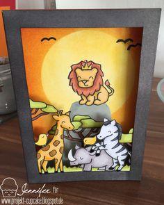 Projekt Cupcake: König der Löwen - Lion King