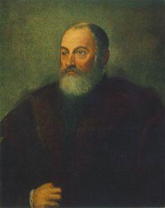 Portrait of a Man : TINTORETTO : Art Images : Imagiva