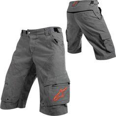 f6742510dde Alpinestars Sports Men s Manual Shorts - Cool Grey Red