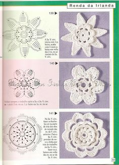 Ivelise Hand Made: Reasons To Irish Crochet And Applications