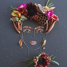 I needed a little Frida for my Friday evening!   @sistergoldenshop  PINNED by y Lezama Art.