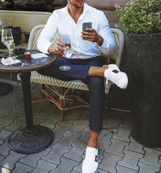 men's street style outfits for cool guys Business Casual Men, Men Casual, Casual Wear, Classy Outfits, Stylish Outfits, Moda Formal, Mode Man, Formal Men Outfit, Herren Outfit