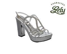 Modelo 1349, color alfa plata, plataforma bella