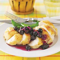Fresh blueberries are as much a part of summer as corn on the cob. Native to North America, they flourish between July and September. Bake them in pies and muffins, or try them in a sweet and tangy sauce for chicken.