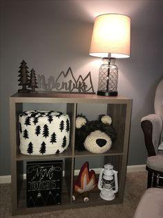 Woodland nursery theme cube