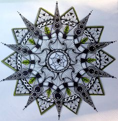 zentangle mandala