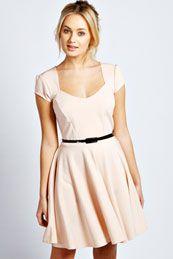 Lara Sweetheart Skater Dress