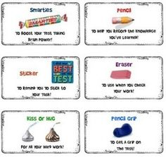 Standardized Testing Survival Kit (AIMS if you live in AZ, ISTEP if you live in IN etc...)
