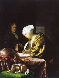 Frans van Mieris the Elder - The letter writer