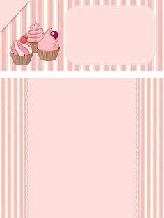 Cake Background, Flower Background Wallpaper, Flower Backgrounds, Baking Logo Design, Cake Logo Design, Fond Design, Cupcakes Wallpaper, Candy Art, Printable Recipe Cards