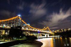 Story Bridge Brisbane Australia - AW photography >> study abroad option