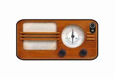 vintage radio case for iPhone 4s/4 by geekdeco
