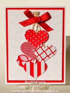 Diy valentines day cards handmade 19 Source by mohlisuse Visit button to see 14 great Valentines card coversUse the cuddle bug to make the backgroundValentine Stamping with MarshaIt provides you a chance to customize the gift and make just what you w Valentines Day Cards Handmade, Wedding Cards Handmade, Valentine Crafts, Greeting Cards Handmade, Wedding Gifts, Tarjetas Diy, Valentine's Day Diy, Paper Cards, Creative Cards