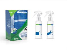 Packaging design for nanotechnology products by Matadog Design