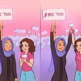 Find images and videos about woman, feminism and feminist on We Heart It - the app to get lost in what you love. Faith In Humanity Restored, Intersectional Feminism, We Are The World, Equal Rights, Social Issues, Human Rights, Girl Power, Equality, Illustration