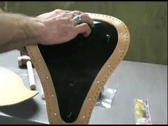 How to Make your own tooled leather seat - Intro
