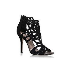 Miss KG - Black 'Flutter' high heel sandals