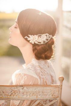 Exquisite Couture Headpieces by Jannie Baltzer - StrictlyWeddings.com Blog