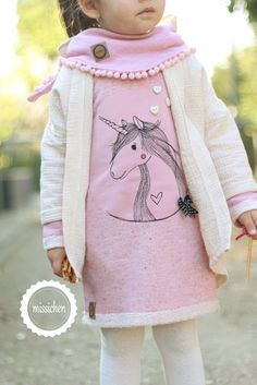 Jacket - Plum by FeeFee, dress is Fine from Evlis needle Miss: A Unicorn for the mini-sister ♥
