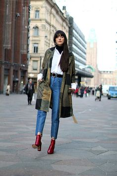 Get this look: http://lb.nu/look/8559873  More looks by Paz Halabi Rodriguez: http://lb.nu/pazhalabirodriguez  Items in this look:  Vi Pme Color Block Coat, H