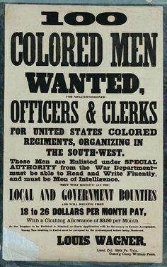 Philadelphia area Civil War recruiting posters