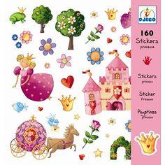 Stickers Princesse Marguerite - Djeco-08830