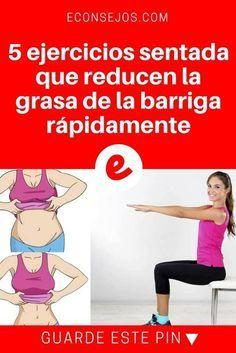 Reducir barriga ejercicios | 5 ejercicios sentada que reducen la grasa de la barriga rápidamente | 5 ejercicios sentada que reducen la grasa de la barriga rápidamente.
