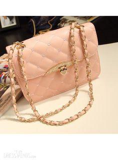 Buy evening bag Peach Heart bag women leather handbags Chain Shoulder Bag  women messenger bag fashion day clutches wallets at Wish - Shopping Made Fun 9be52b578f8fd