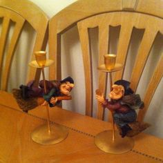 Flying Witches Candlesticks. | eBay