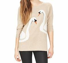 Sugarhill Boutique Kissing Swans cream cotton sweater Lend your look a touch of romance with this sweet kissing swans jumper, perfect for wearing with your favourite jeans. In 100% cotton its sure to be as comfortable as it is stylish.Fabric: 100% cotton http://www.comparestoreprices.co.uk/clothing/sugarhill-boutique-kissing-swans-cream-cotton-sweater.asp