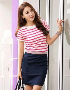 Stripes, Maternity, Stripe Top, Sleeve, Top