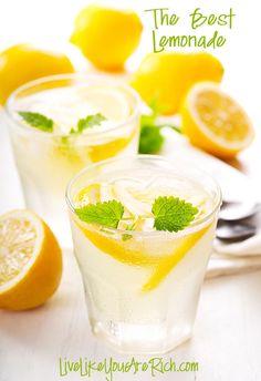 Lemonade with Simple Syrup Recipe on Yummly. @yummly #recipe