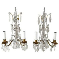Shop wall lights and sconces and other antique, modern and contemporary lamps and lighting from the world's best furniture dealers. Vintage Home Decor, Vintage Furniture, Cool Furniture, Modern Furniture, Vintage Wall Lights, Contemporary Lamps, Candle Sconces, Mid Century, Bronze